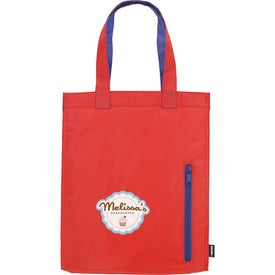 Printed Koozie City Tote Kooler