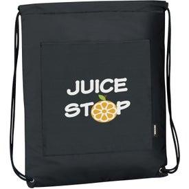 Koozie Drawstring Backpack Kooler Branded with Your Logo