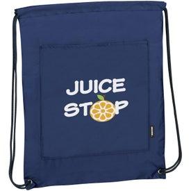 Promotional Koozie Drawstring Backpack Kooler