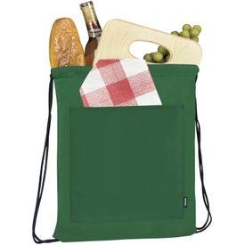 Advertising Koozie Drawstring Backpack Kooler