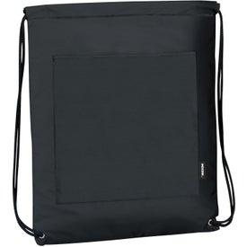 Printed Koozie Drawstring Backpack Kooler