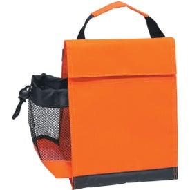 Monogrammed Identification Lunch Bag