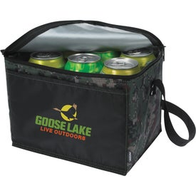 Koozie Six-Pack Kooler Camouflage Giveaways