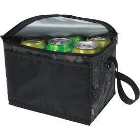 Koozie Six-Pack Kooler Camouflage for Customization