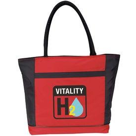Custom Koozie Kooler Tote Bag