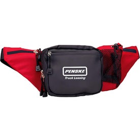 Deluxe Waist Pack Printed with Your Logo
