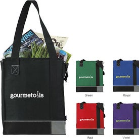 Koozie Tri-Tone Insulated Grocery Tote Imprinted with Your Logo