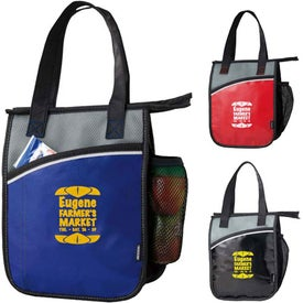 Koozie Vertical Laminated Lunch Cooler Giveaways