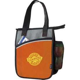 Printed Koozie Vertical Laminated Lunch Cooler