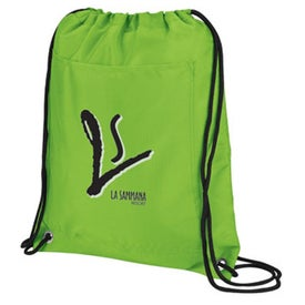 Branded Lightweight Drawstring Cooler Pack