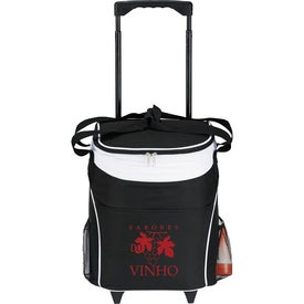 36 Can Lombardi Rolling Cooler Imprinted with Your Logo