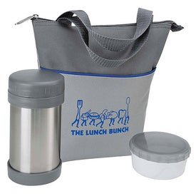 Personalized Lunch Bag Set with Storage Container