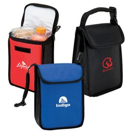 Branded Lunch Sack with Buckle