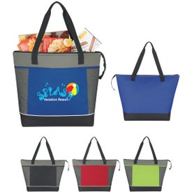 Mega Shopping Kooler Tote Bag Printed with Your Logo