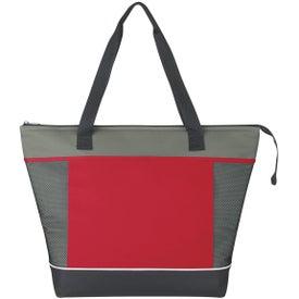 Monogrammed Mega Shopping Kooler Tote Bag
