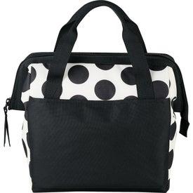 Monogrammed Muscari Fresh Bowler Lunch Bag