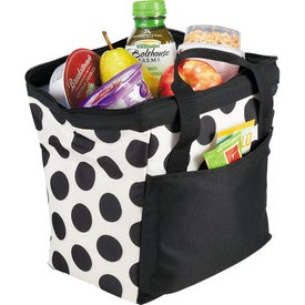 Muscari Fresh Bowler Lunch Bag for Marketing