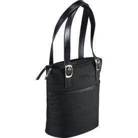 Logo Muscari Tablet Handbag Lunch Cooler
