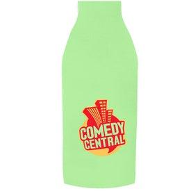 Neoprene Bottle Sleeve with Your Slogan