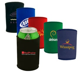 "Neoprene Can Holder (4.1875"" x 3"" Dia., Screen Print, Wrap)"