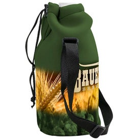 Neoprene Growler Cover with Drawstring (Four Color Process)