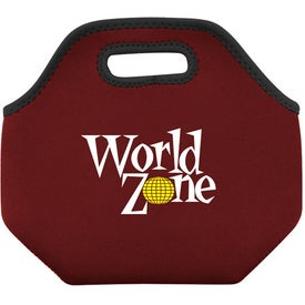Monogrammed Neoprene Lunch Sacks