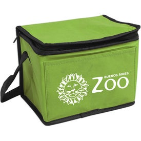 Non-Woven 6-Pack Cooler with Your Slogan
