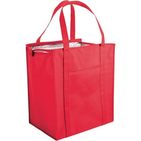 Non Woven Large Insulated Bag with Your Slogan