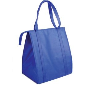 Monogrammed Non Woven Large Insulated Bag