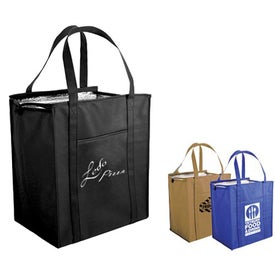 Non Woven Large Insulated Bag (Screen Print)