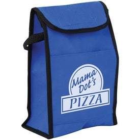 Non Woven Lunch Sack Cooler (Color Surge)