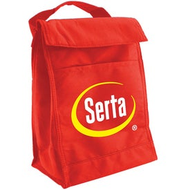 Monogrammed Non Woven Lunch Sack