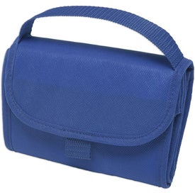 Non-Woven Foldable Lunch Bag Imprinted with Your Logo