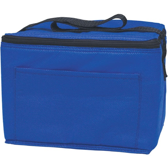 Royal Blue Non-Woven Insulated 6-Pack Kooler Bag