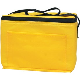 Non-Woven Insulated 6-Pack Kooler Bag for Promotion