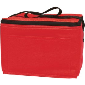 Promotional Non-Woven Insulated 6-Pack Kooler Bag