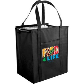 Non Woven Large Insulated Bag (Full Color Logo)