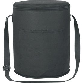 Non-Woven Round Kooler Bag with Your Slogan