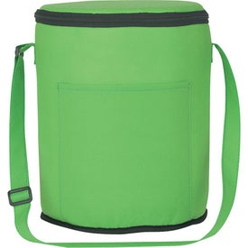 Non-Woven Round Kooler Bag for Marketing
