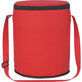 Non-Woven Round Kooler Bag for Your Organization
