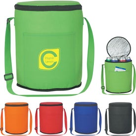 Non-Woven Round Kooler Bag for Promotion