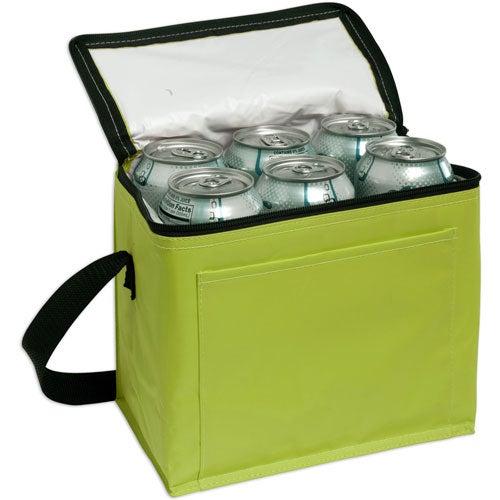 6 Pack Cooler ~ Nylon pack cooler promotional coolers ea