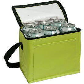 Nylon 6-Pack Cooler with Your Logo