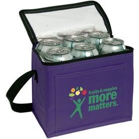 Nylon 6-Pack Cooler for Promotion