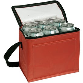 Branded Nylon 6-Pack Cooler