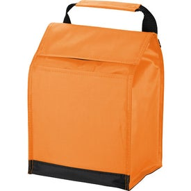 Logo Out To Lunch Cooler Bag
