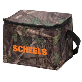 Outdoor Camo 6 Pack Cooler