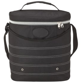 Oval Cooler Bag with Shoulder Strap for your School