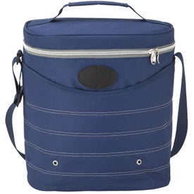 Oval Cooler Bag with Shoulder Strap with Your Slogan