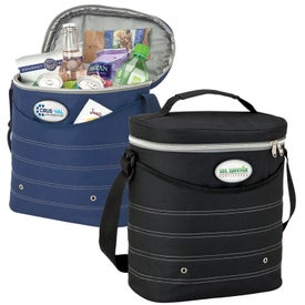 Oval Cooler Bag with Shoulder Strap